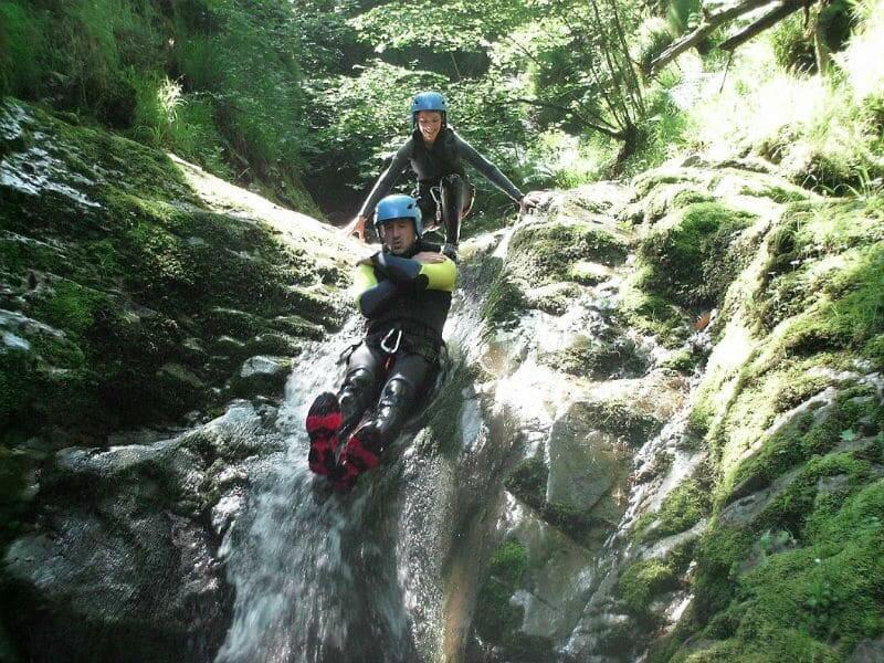 Descenso de barrancos en Asturias