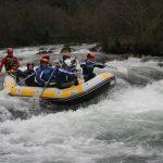 viajes de estudios rafting
